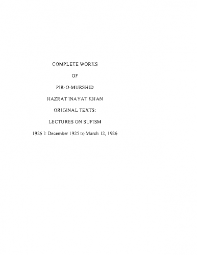 Complete-Works-of-Pir-O-Murshid-Hazrat-Inayat-Khan-1926