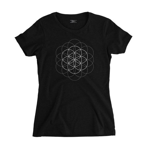 Flower of Life T-shirt - White