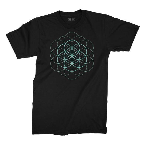 Flower of Life T-Shirt - Teal