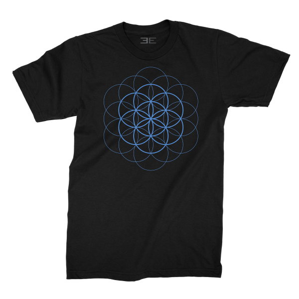 Flower of Life - Blue