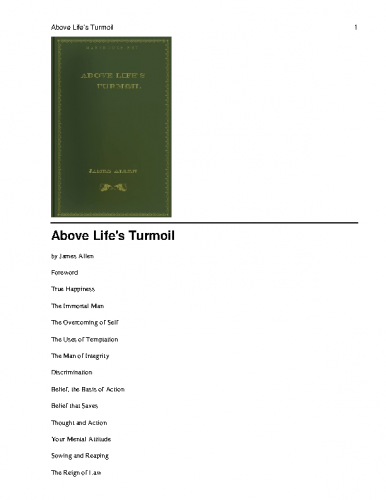 James-Allen-Above-Lifes-Turmoil