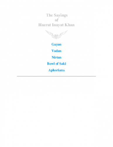 Sayings-of-Hazrat-Kahn