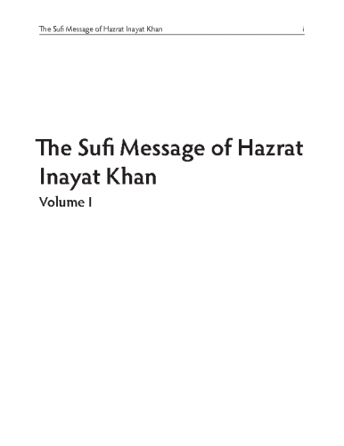 The-Sufi-Message-I