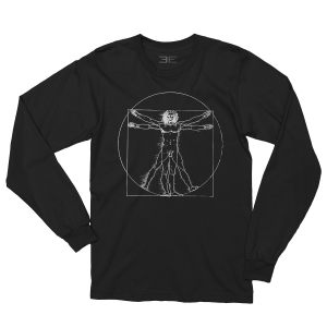 Long Sleeve Vitruvian Man